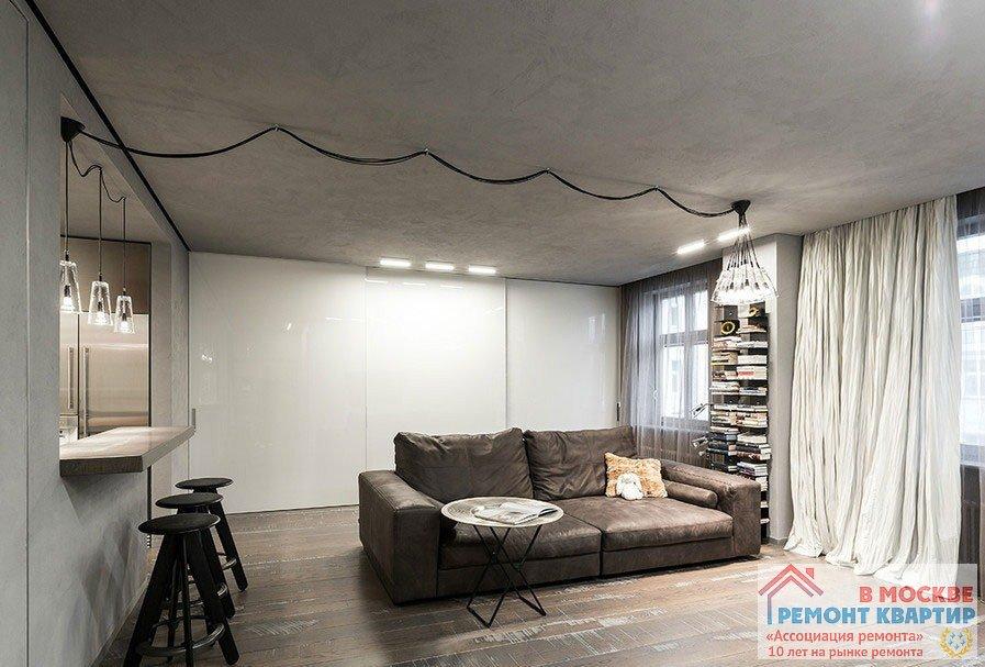 Фото дизайн-проект интерьера квартиры г Москва, ул
